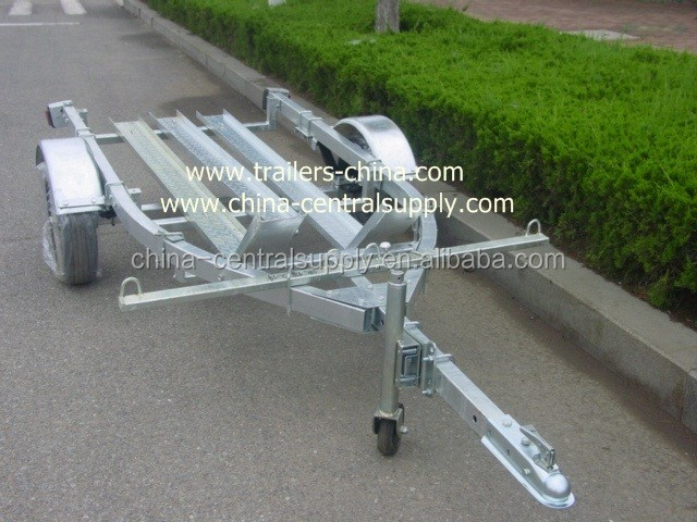 FACTORY SUPPLY AND SALE GALVANIZED 3.4M BIKE / MOTORCYCLE TRAILER CT0301