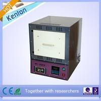 CE Certified 1000C high temperature laboratory electric muffle furnace with factory price for sale