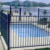 Low Cost High Quality commercial free sample wrought iron fencing