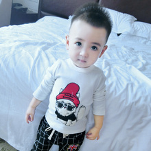 Children T shirt 2015 Designs Boys Casual Cute 100% Organic Cotton T shirts