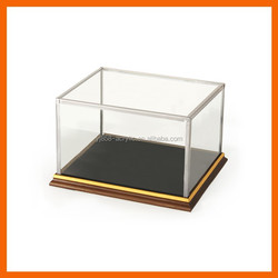 Factory wholesale price custom made clear model train acrylic display cases