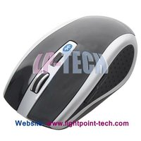 wireless bluetooth mouse with CPI switch between speed and precision