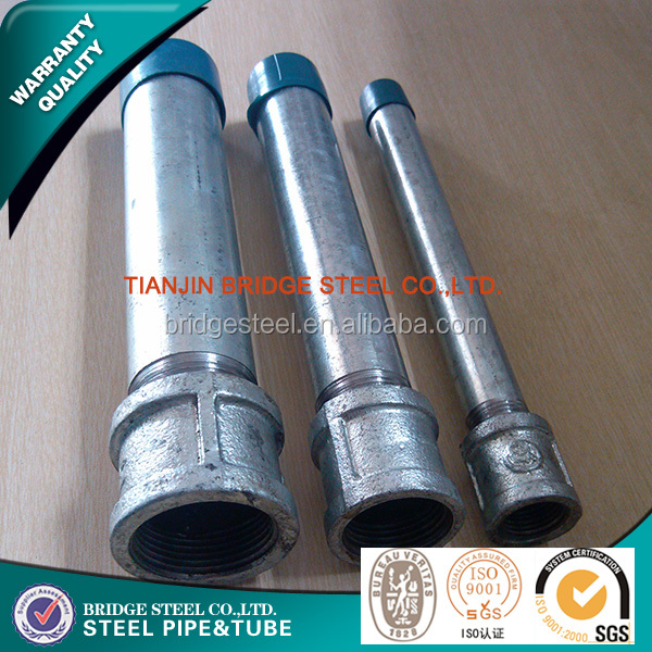 CHINA Through wiring steel electrical conduit pipe,electrical conduit