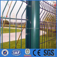 high quality airport welded wire mesh fence/warehouse wire mesh fence/highway wire mesh fence