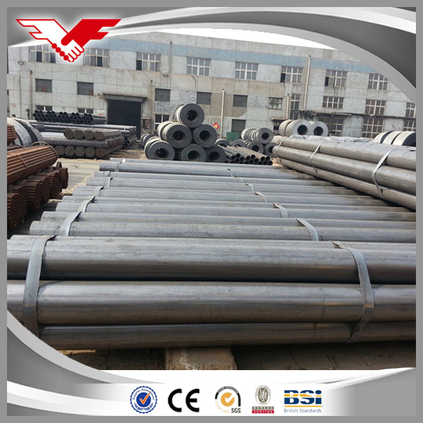 ASTM A53 ERW Steel bare pipe