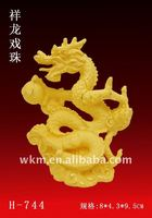 2012 gift,choose dragon 24K advanced gold gift