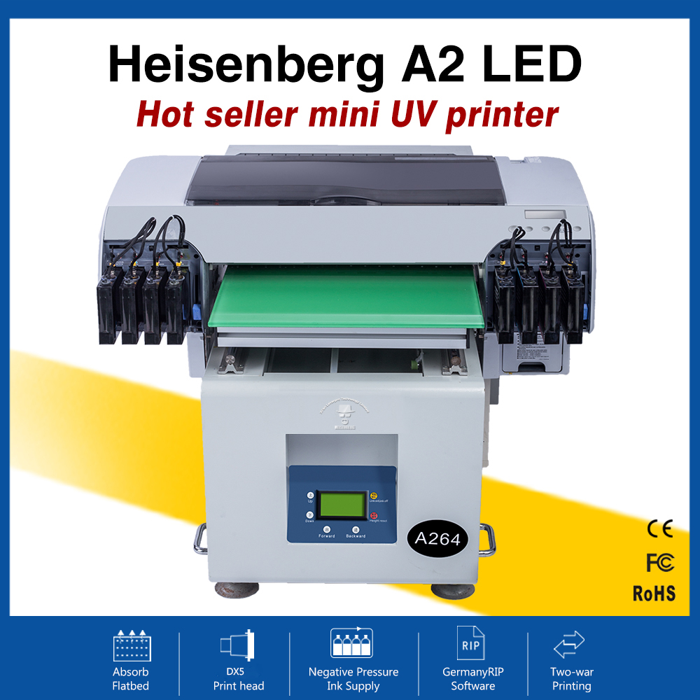 Heisenberg Cheap Price Garment Laser A2 UV Flatbed Printer