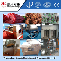dried beef production line snacks processing machine line