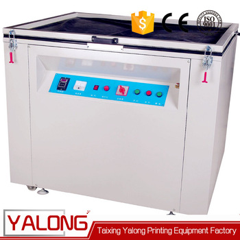 uv double side single color exposure machine