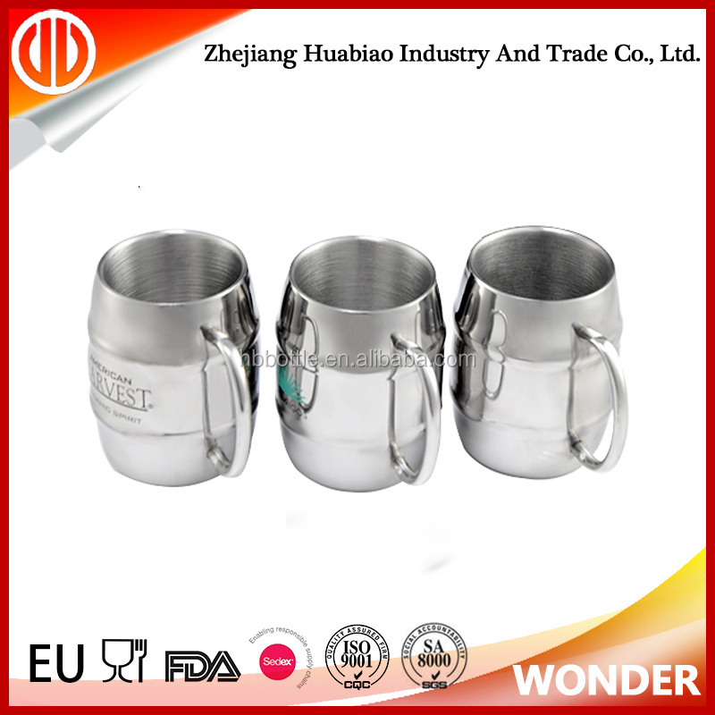 Stainless Steel Insulated Tankard Beer Mug 14oz / 400ml