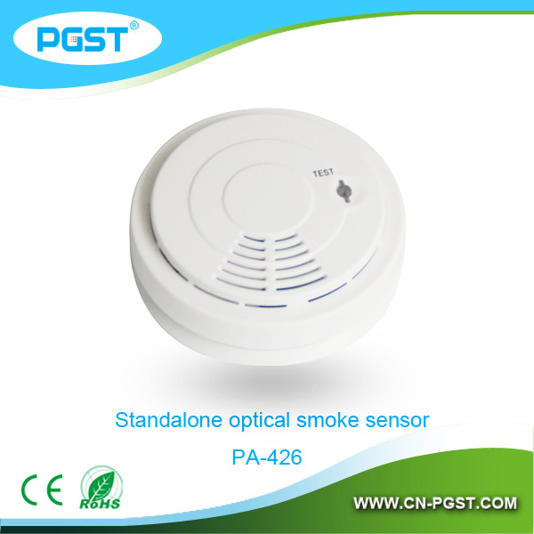 fire alarm signPA-426,Battery operated photoelectric smoke detector