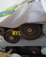 Low price of fashion fabric leather PVC leather factory