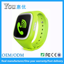 KW107T touch screen geofence kids wifi gps smart phone watch with speaker