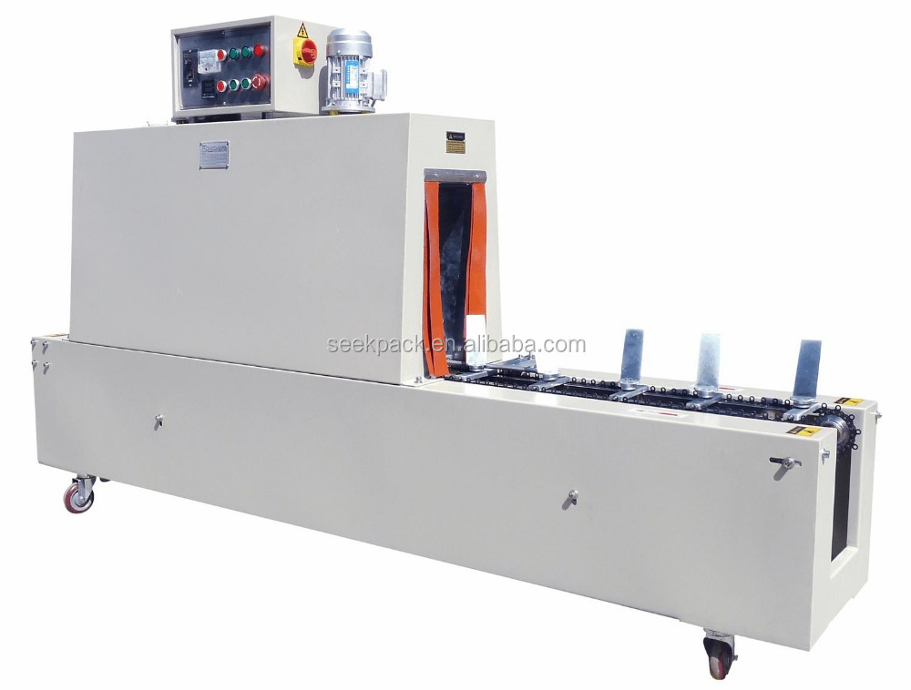 AUTOMATIC SHRINK PACKAGING MACHINE AUTO LABEL SHRINK TUNNEL