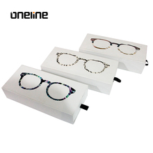 Modern stylish sunglasses box paper/glasses box