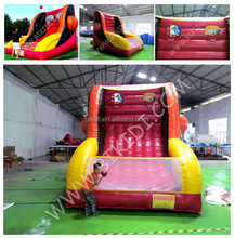 Hot sale outdoor inflatable basketball hoop game, inflatable basketball sports games for sale B6072