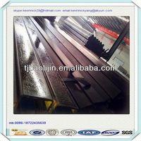60*80mm SS330 Pre RHS scaffolding welded galvanized steel pipe specifications