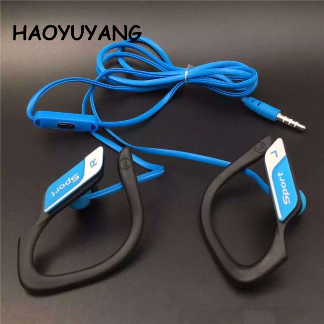 Universal Waterproof Headphone Sport Earphone Earhook 3.5mm Best GIft