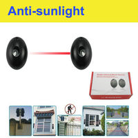 Infrared beam detector in security electirc alarm system