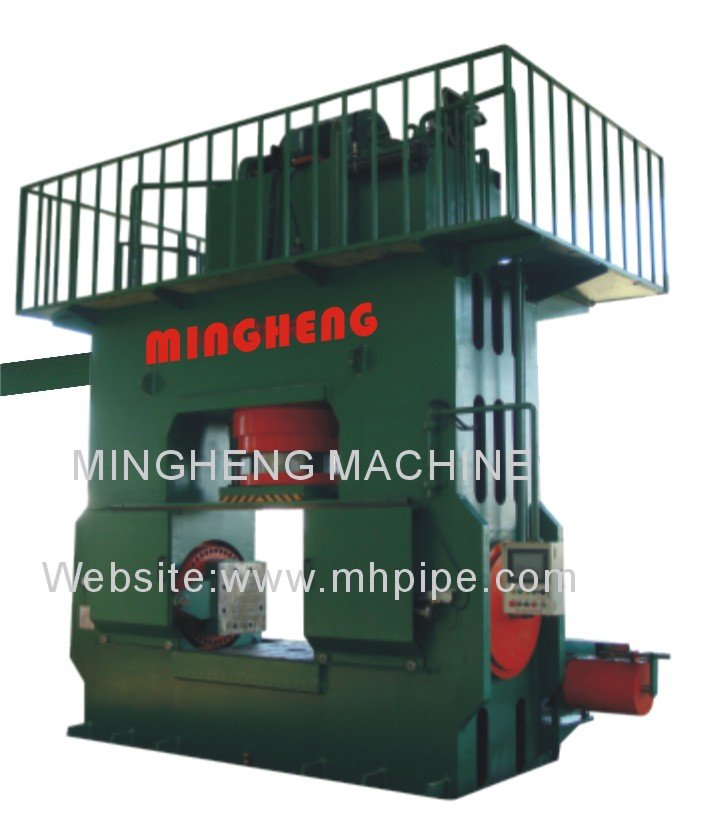 Stainless steel/carbon steel/ alloy steel Tee hydraulic cold forming machine