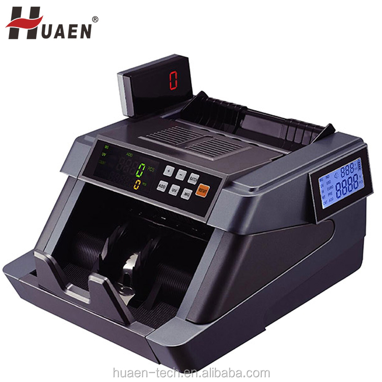 Changing LCD cash counter counterfeit money bill pieces counting machine