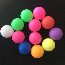 beer pong china factory custom PP printed Plastic table tennis ball seamless color ping pong ball wholesale for toy