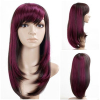 Customized Order Colorful Chinese Wig Store 100 Percent Human Hair Full Lace Wig For White Women