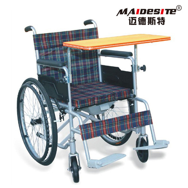 Alibaba lightweight manual wheelchairs with tables for sale