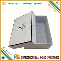 Beautiful luxury paper packaging box wedding dresses shipping box