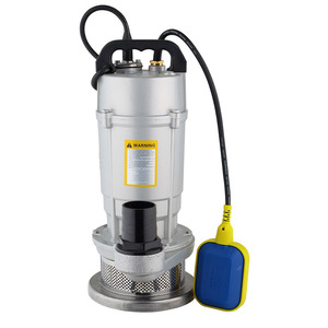 Non clogging cast iron dirty water submersible pump