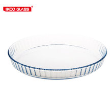 Heat resistance 600degree microwave pizza tray
