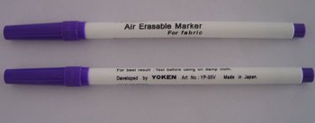 Yoken Air Erasable Marker For Fabric