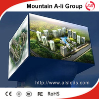 P16 big outdoor led video advertising wall screen