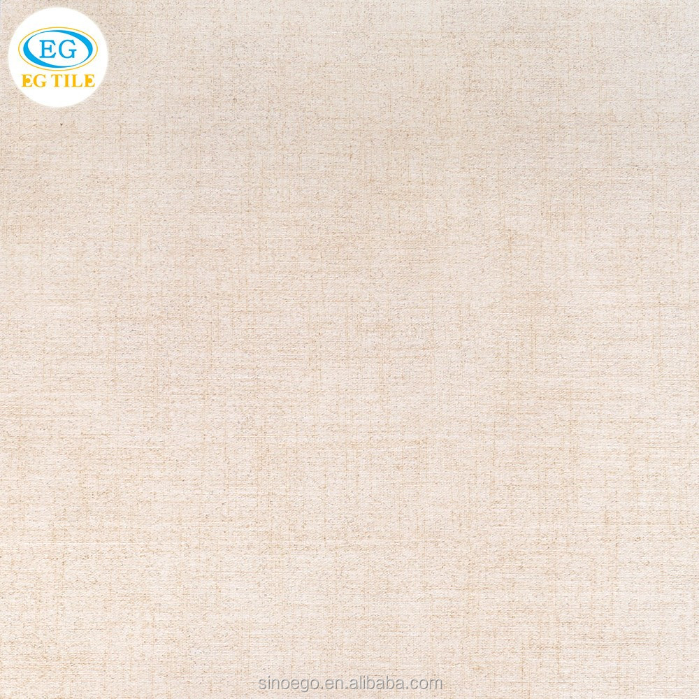 High quality Home building material fabric cloth look ceramic wall tile glazed porcelain floor tile 12x24incl 300x600 600x600mm