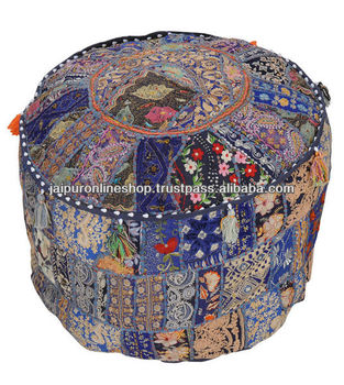 Indian Banjara Ottoman Stool Furniture Bench Pouf Buy