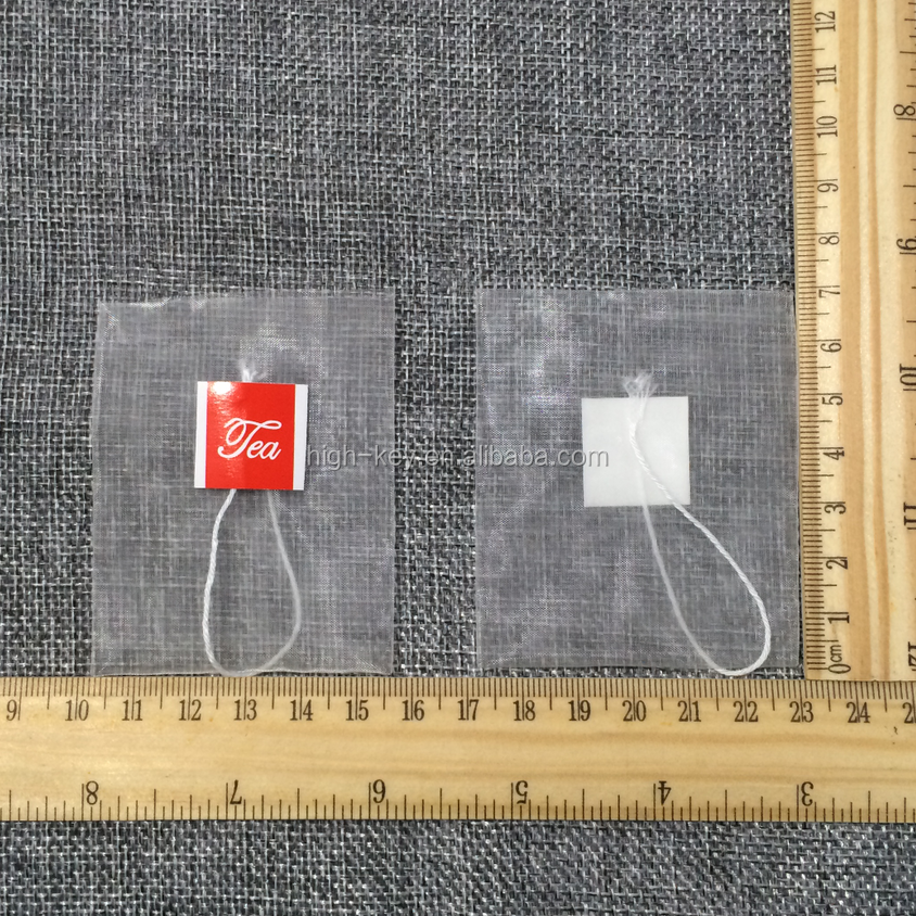 E1001 empty pyramid nylon tea <strong>bag</strong> for tea food grade OEM