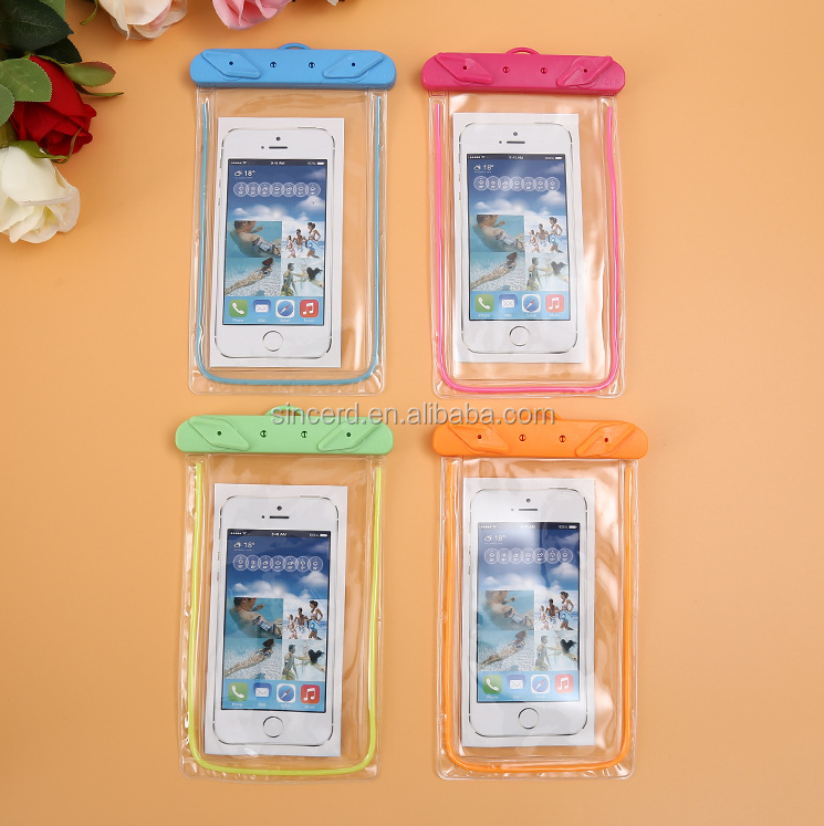 Universal PVC phone case manufacturing Mobile Phone waterproof case for sale
