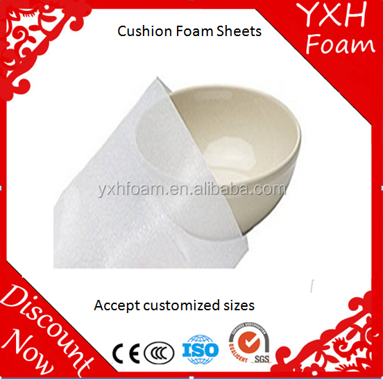 "11 7/8""x 12 1/8"" Foam Pouches for Plates (25 Pack) Protect Dishes"
