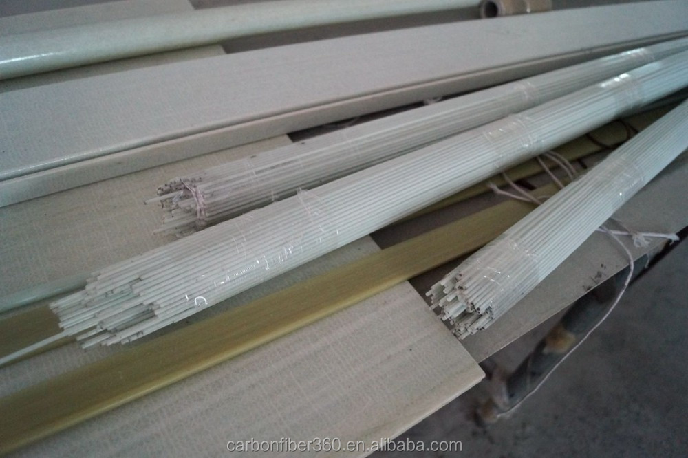 Factory price fiber glass tube, glass fiber tube, fiberglass round tube