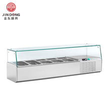 Counter top refrigerated display table refrigerated showcase