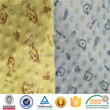 100% polyester, printed Mickey Mouse design, microsoft short-pile velour used for toys/sofa/clothing/car/home textile/cushion