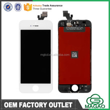 AAA High quality wholesale for iphone 5 lcd assembly, for iphone 5 lcd display, lcd for iphone 5 screen