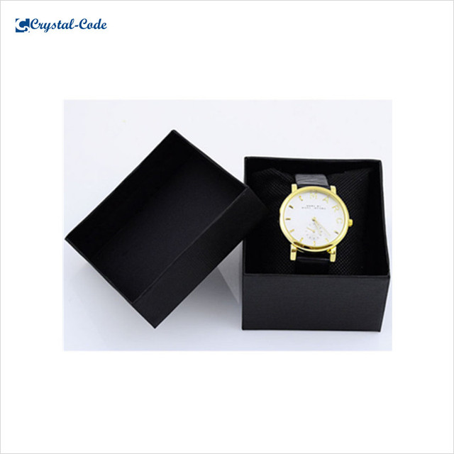 Fashionable recycled design paper watch box cardboard
