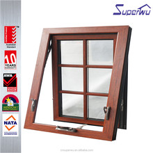 new design aluminum window chain winder awning windows for house