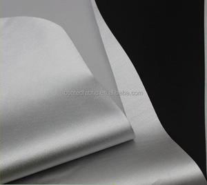 190T polyester taffeta with silver coating for car cover