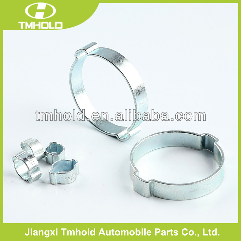 Stainless steel Machine clip earings