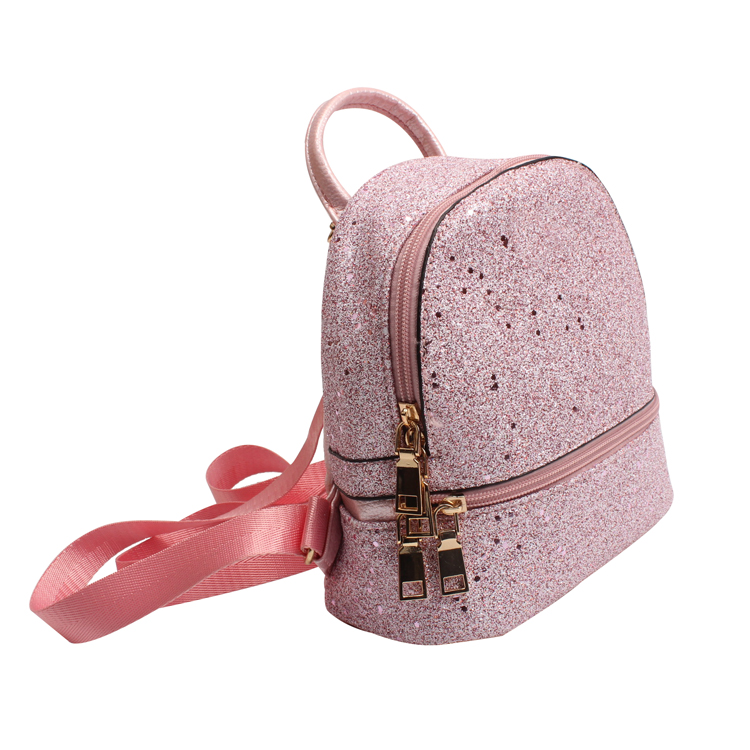 Cute Mini Backpack Purse for Girls Teenagers Glitter Pattern School Bookbag Shoulder Backpack