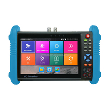 Smart Security New and Hot touch screen IPC-9800plus series cctv video tester, multi-function Hybrid CCTV Tester