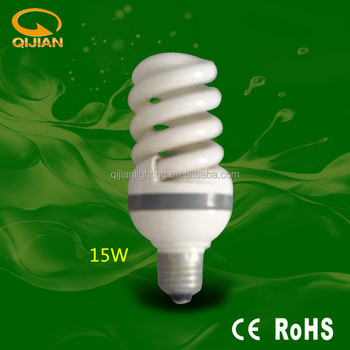 Energy saving bulb spiral 15W
