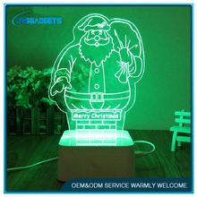3d-illusion christmas deco night light ,H0T080 big christmas tree light , micro usb led light for sale